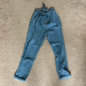 Showpo Paperbag Jeans